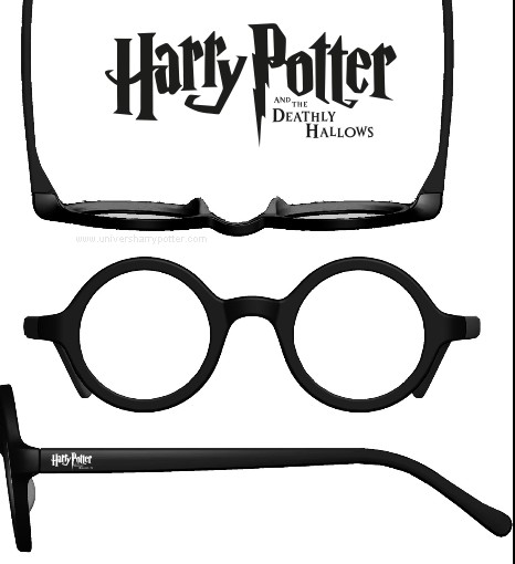picture relating to Harry Potter Glasses Printable titled French DH Section 2 Premiere Harry Potter Discussion board